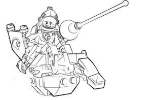 Лего нексо найц картинки раскраски (3)