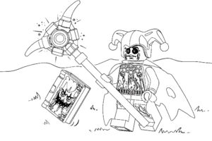 Лего нексо найц картинки раскраски (4)