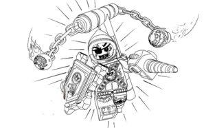 Лего нексо найц картинки раскраски (8)
