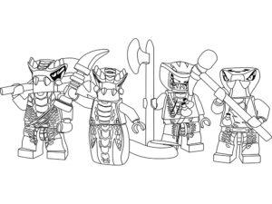 Лего ниндзяго картинки раскраски (22)