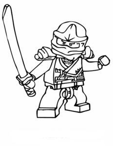 Лего ниндзяго картинки раскраски (23)
