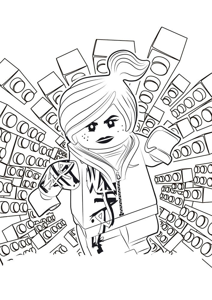 Лего ниндзяго картинки раскраски (24)