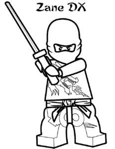 Лего ниндзяго картинки раскраски (25)