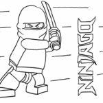 Лего ниндзяго картинки раскраски (27)