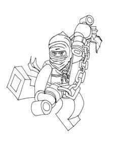 Лего ниндзяго картинки раскраски (3)