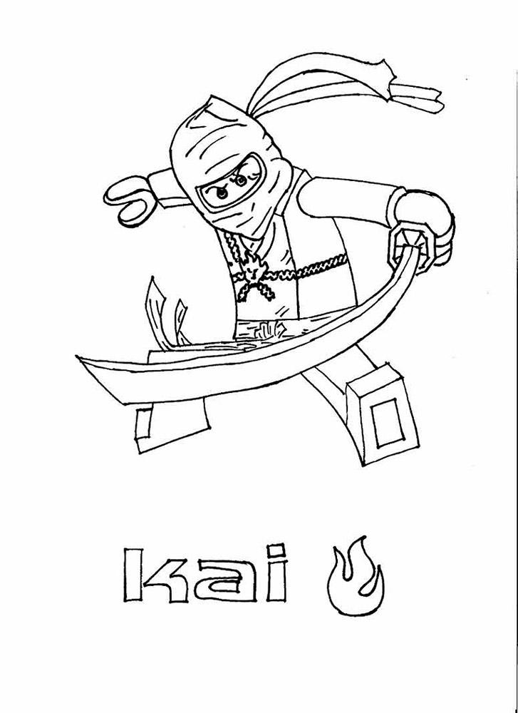 Лего ниндзяго картинки раскраски (30)
