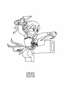 Лего ниндзяго картинки раскраски (31)