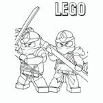 Лего ниндзяго картинки раскраски (33)