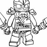 Лего ниндзяго картинки раскраски (34)