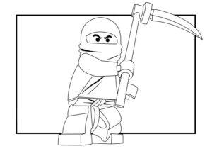 Лего ниндзяго картинки раскраски (37)