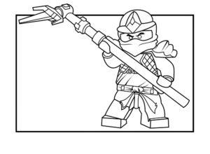 Лего ниндзяго картинки раскраски (38)