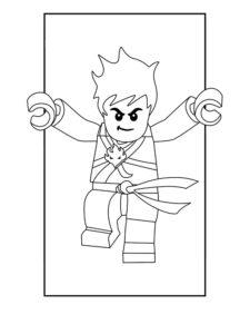 Лего ниндзяго картинки раскраски (39)