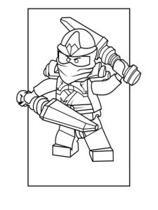 Лего ниндзяго картинки раскраски (41)