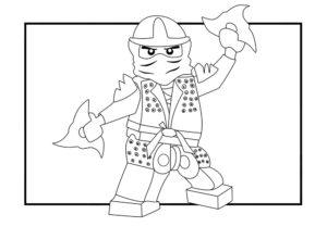 Лего ниндзяго картинки раскраски (42)