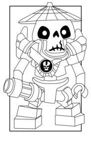 Лего ниндзяго картинки раскраски (46)