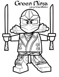 Лего ниндзяго картинки раскраски (49)