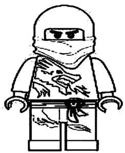 Лего ниндзяго картинки раскраски (53)