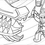 Лего ниндзяго картинки раскраски (7)