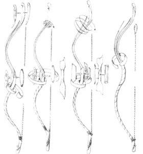 Лук и стрелы картинки раскраски (33)