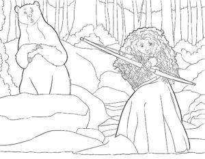 Лук и стрелы картинки раскраски (8)