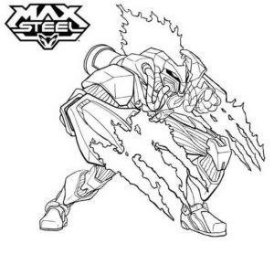 Макс стил картинки раскраски (1)