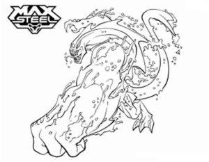 Макс стил картинки раскраски (20)