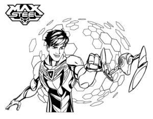 Макс стил картинки раскраски (4)