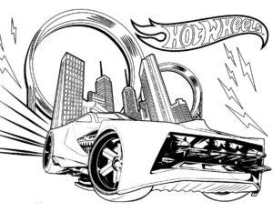 -хот-вилс-картинки-раскраски-10-300x233 Машинки хот вилс