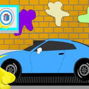 Машинки раскраски