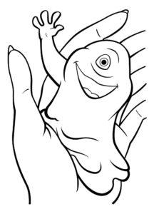 Монстры картинки раскраски (7)