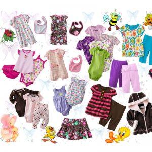 Одежда для детей раскраски