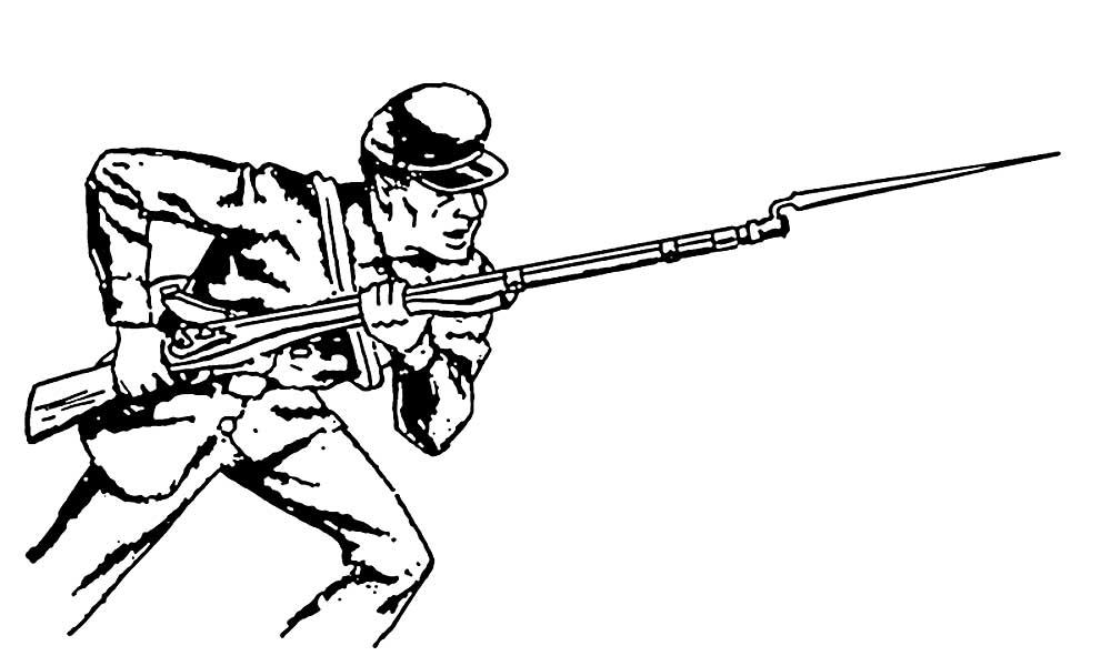 Оружие картинки раскраски (17) - Рисовака
