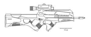 Оружие картинки раскраски (22)