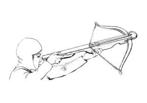 Оружие картинки раскраски (24)