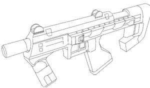Оружие картинки раскраски (33)