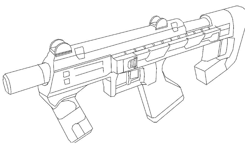 Оружие картинки раскраски (33) - Рисовака