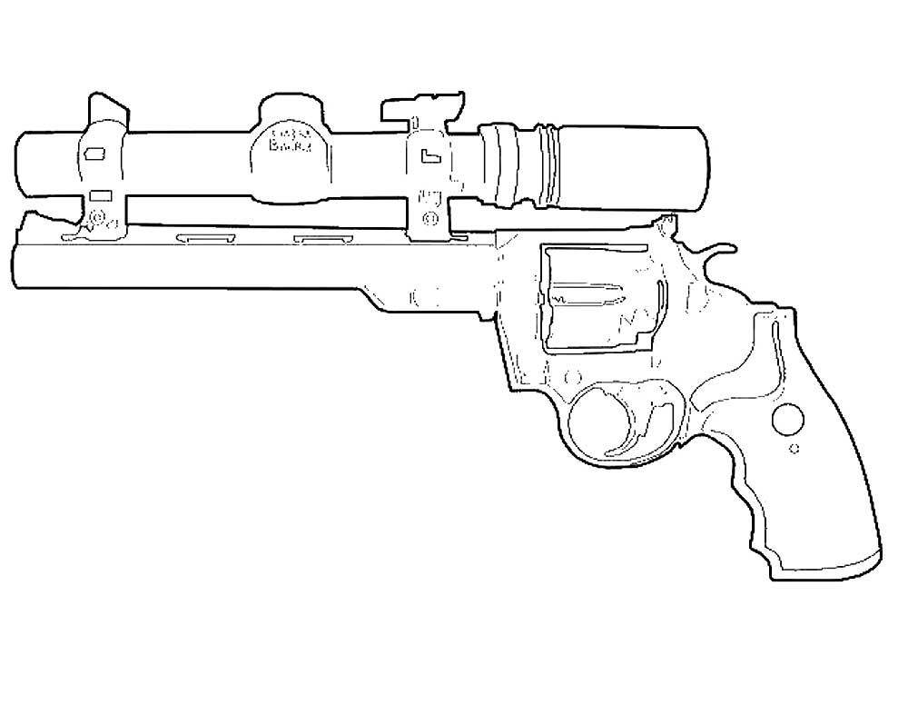 Оружие картинки раскраски (48) - Рисовака