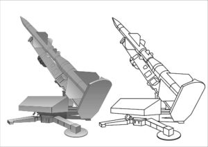 Оружие картинки раскраски (8)