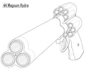 Оружие картинки раскраски (9)