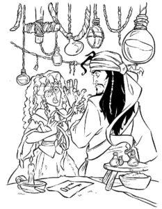 Пираты картинки раскраски (14)
