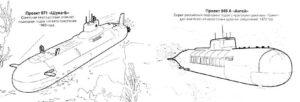 Подводная лодка картинки раскраски (32)