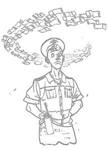 Полиция картинки раскраски (3)
