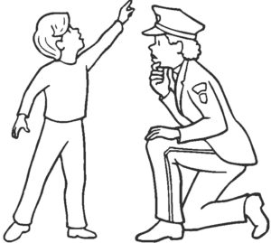 Полиция картинки раскраски (5)