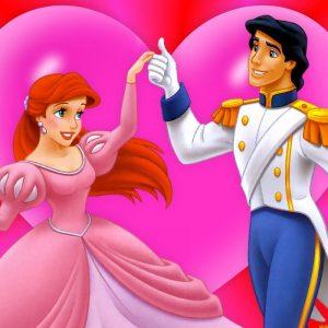 Принц и принцесса раскраски