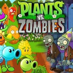 Растения против зомби раскраски