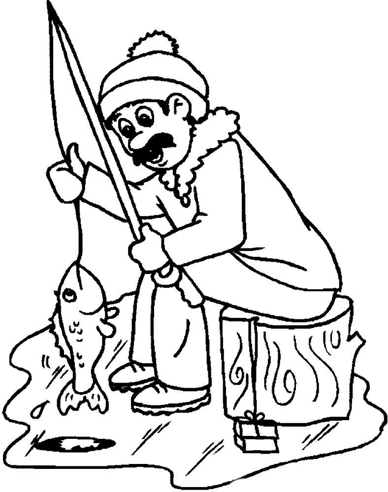 случае картинки для раскраски рыбалка обозначить глазки все