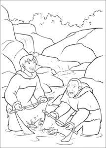 Рыбалка картинки раскраски (84)