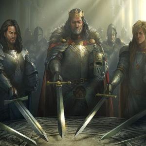 Рыцари раскраски