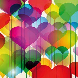 Сердечки раскраски