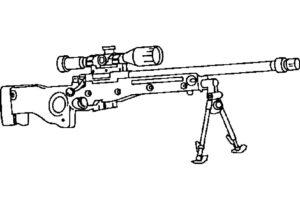 -картинки-раскраски-1-300x210 Снайпер